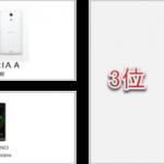 夏の新機種人気ランキング! 21機種中もっとも人気のスマートフォンは 「XPERIA A SO-04E(docomo)」