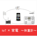 【IoT×家電】未来の暮らしはスマートになる! 〜スマート体重計〜