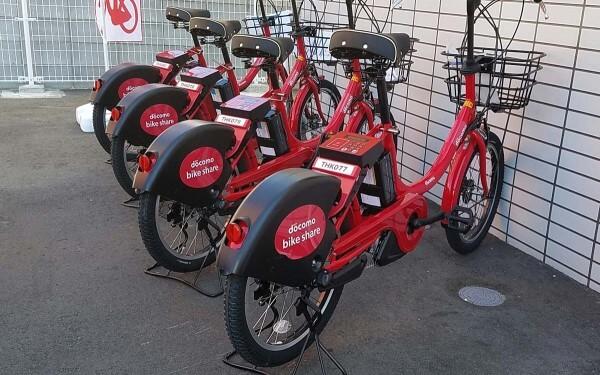 ドコモのIoT自転車がいよいよ地方進出|木暮祐一のぶらり携帯散歩道