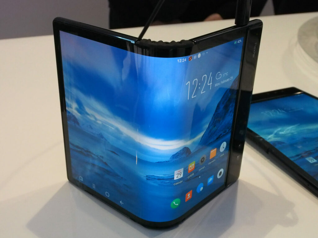 """FlexPai"" with the world's first commercialized and curved display by royole"