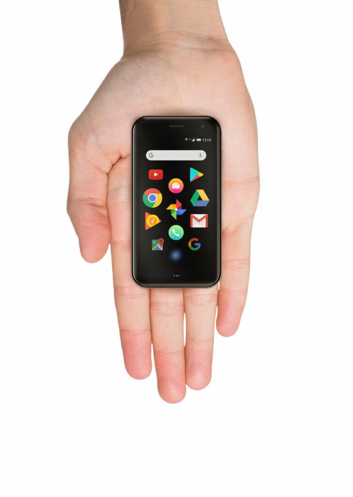 手のひらサイズのPalm Phone