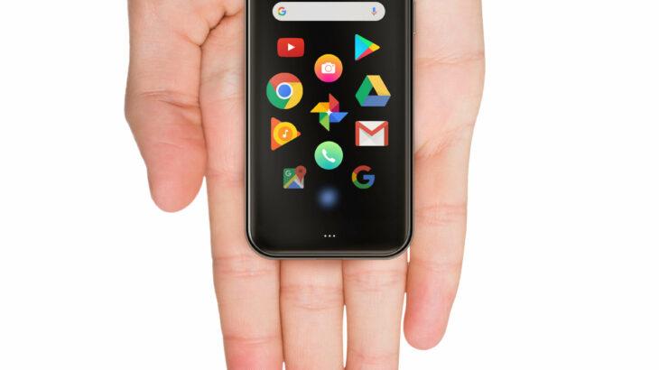 手のひらサイズの高性能小型スマートフォン「Palm Phone」4月24日発売!