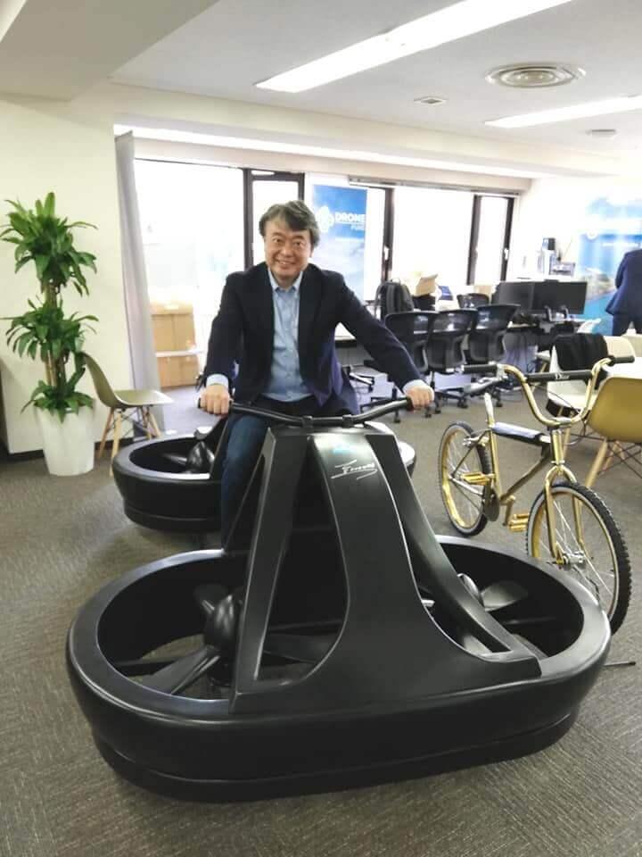 去年, 我们在 a. l. i 技术公司对悬停自行车的模型进行了接触!