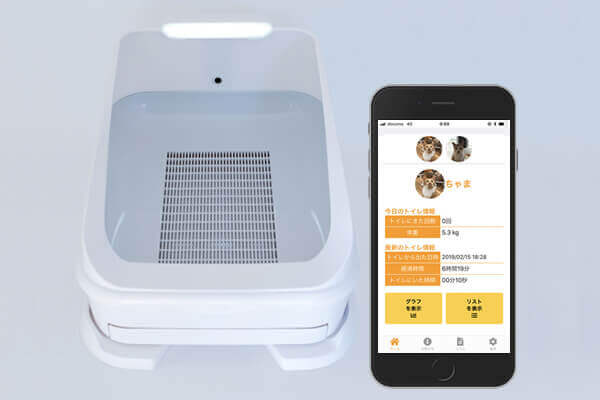 Health management of cats with IoT│ Yuichi Kogure's mobile walking path