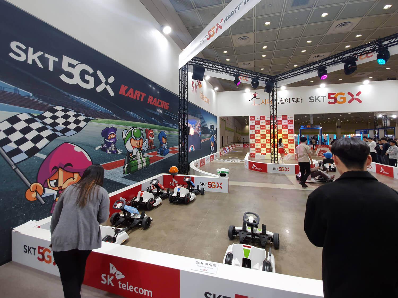 5Gサービスが韓国で開始、各地で「5G」のイベントが行われている