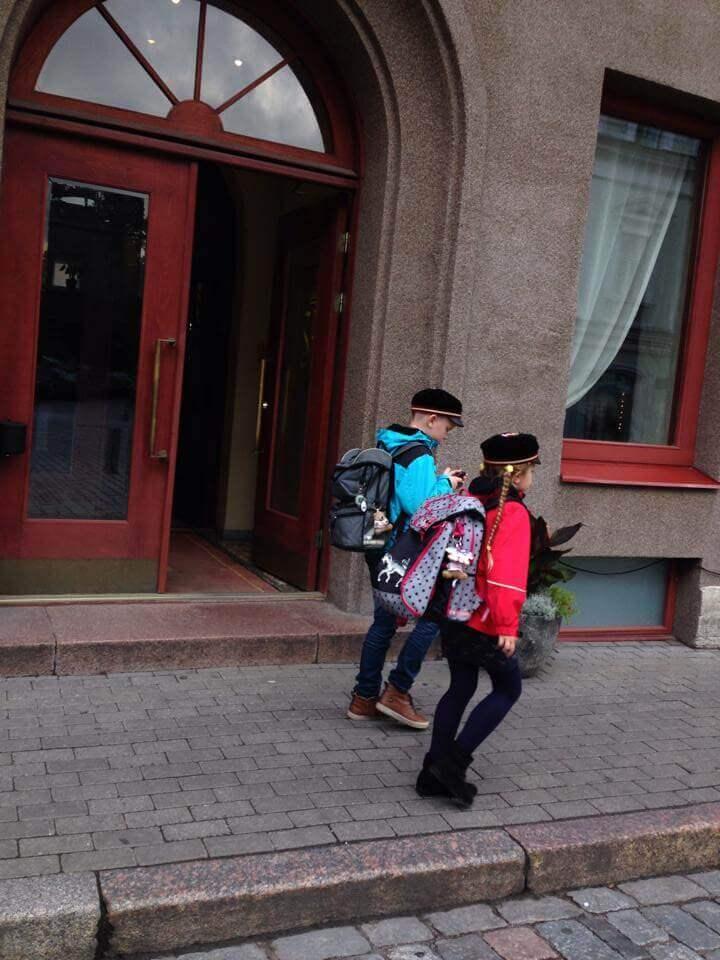 エストニアの子どもたち