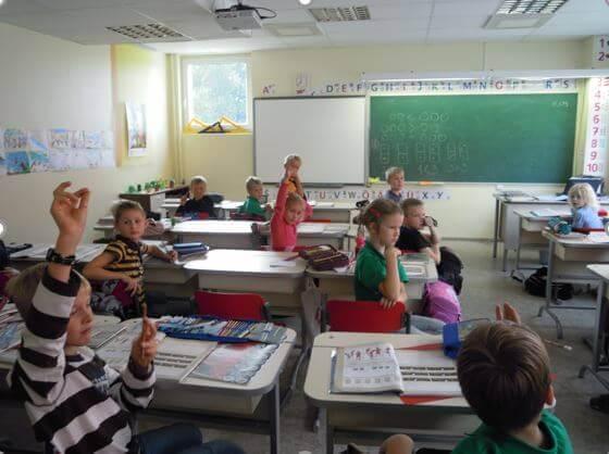 エストニアの教室