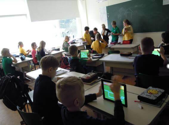 PCを使った学校教育