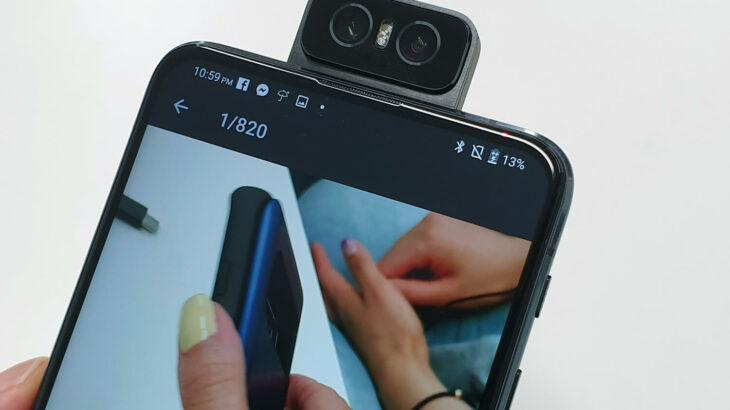 回転式カメラ採用のスマホが登場、画面のノッチは完全消滅へ|山根康宏のワールドモバイルレポート