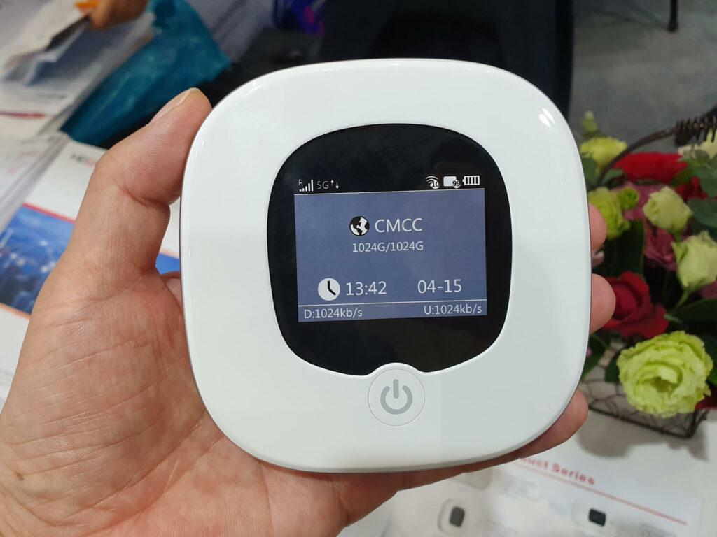 中国ODMメーカー、MEIGの5Gモバイルルーター
