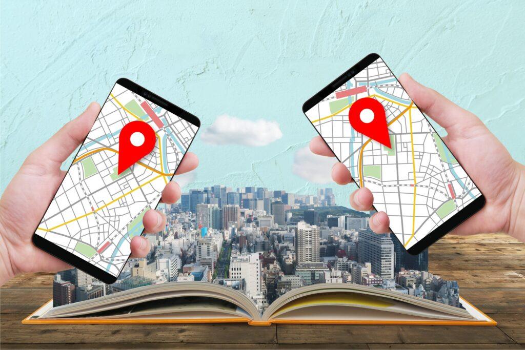 GPSを使うアプリ