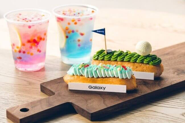 Galaxy Cafeのスイーツとドリンク