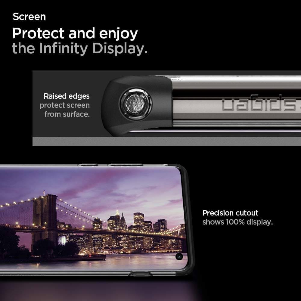 Protect and enjoy the Infinity Display.
