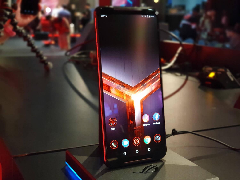 ゲーミングスマホ「ROG Phone II」を出したASUSは世界でどれくらいのシェアがあるのだろうか?