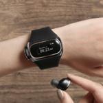 スマートウォッチ+ハイレゾ対応ワイヤレスイヤフォン Aipower「Wearbuds」