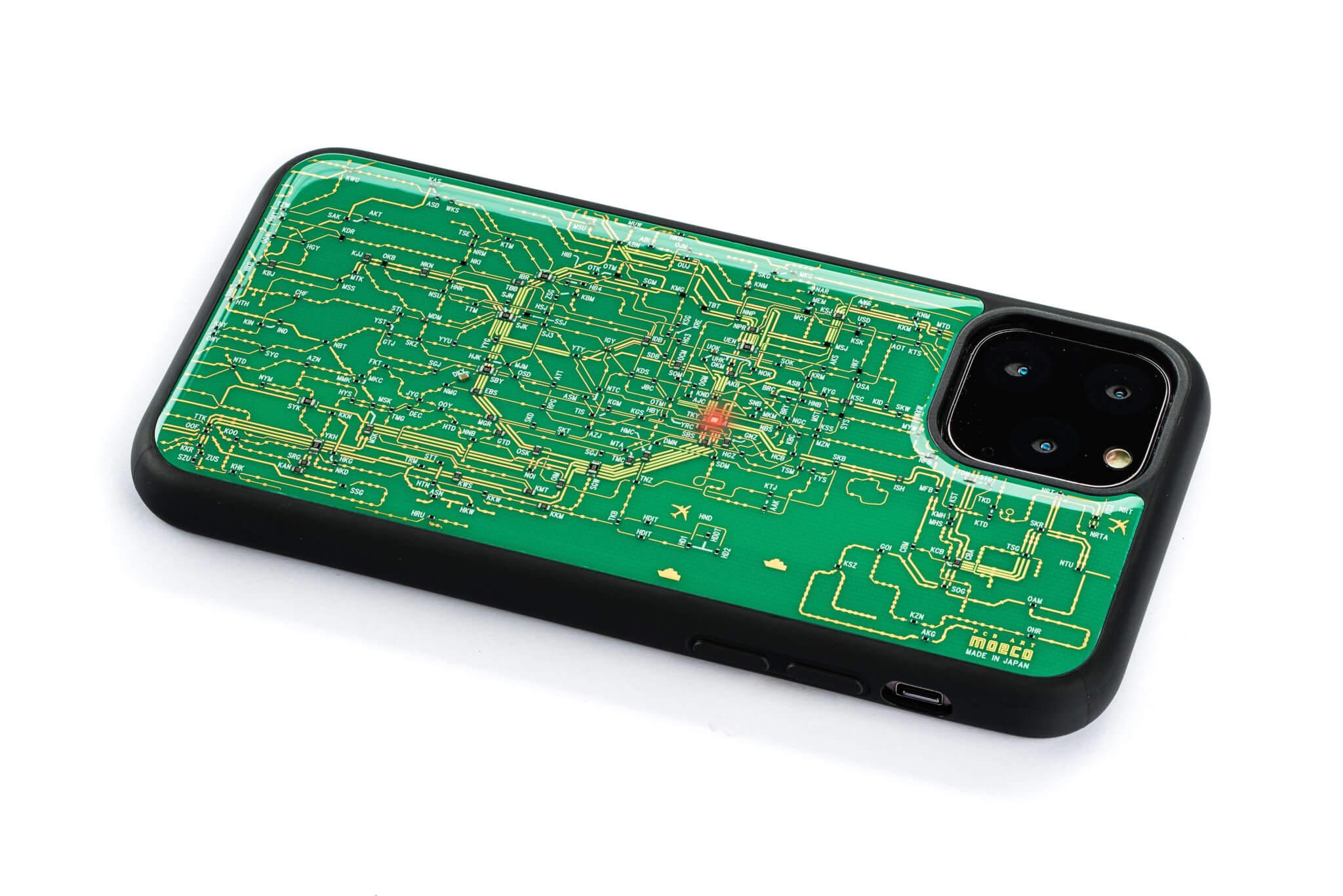 東京回路線図 11 Pro 緑 ななめ