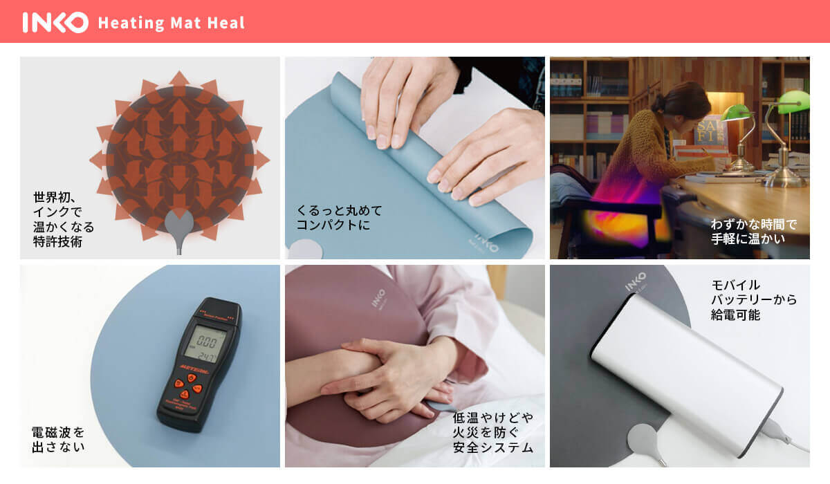 INKO Heating Mat Heal