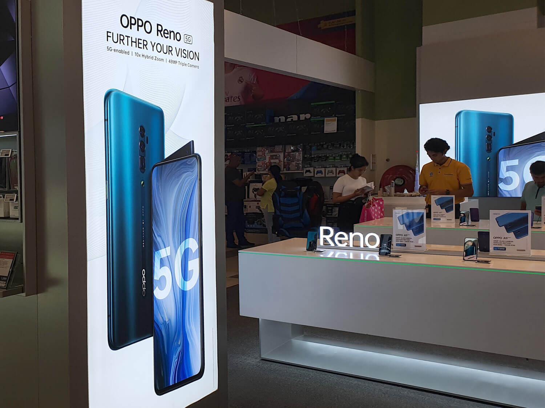 UAEのドバイでもReno 5Gが普通に販売されている