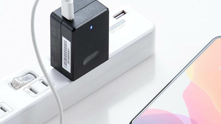 USB PD充電器「700-AC028」 電源タップが埋まらないコンパクトサイズ!USB Power Delivery規格の45W出力に対応したType-C-AC充電器発売