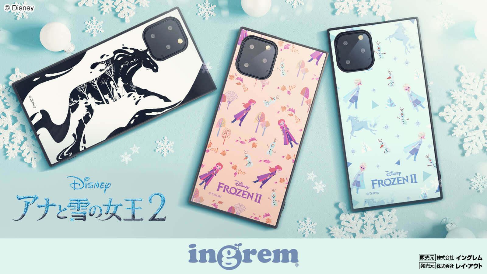 「アナと雪の女王2」デザインスマホケース