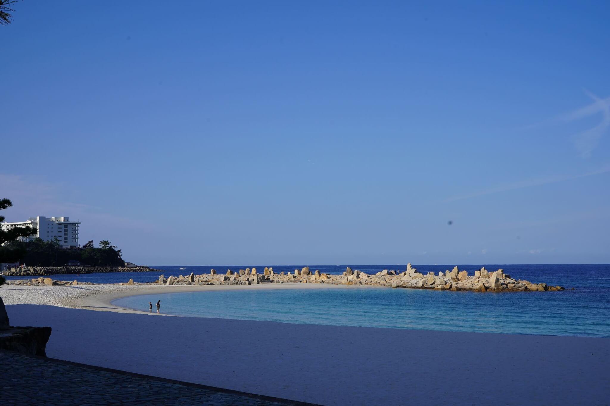 南紀白浜、海の風景