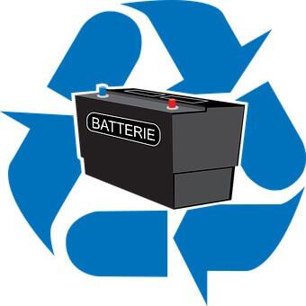 バッテリーのリサイクル