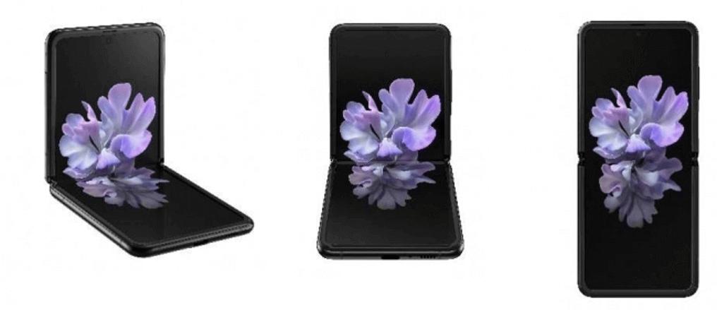 「Galaxy Z Flip」 ミラー ブラック