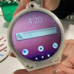 世界初かもしれない円形ディスプレイのCycle Phone