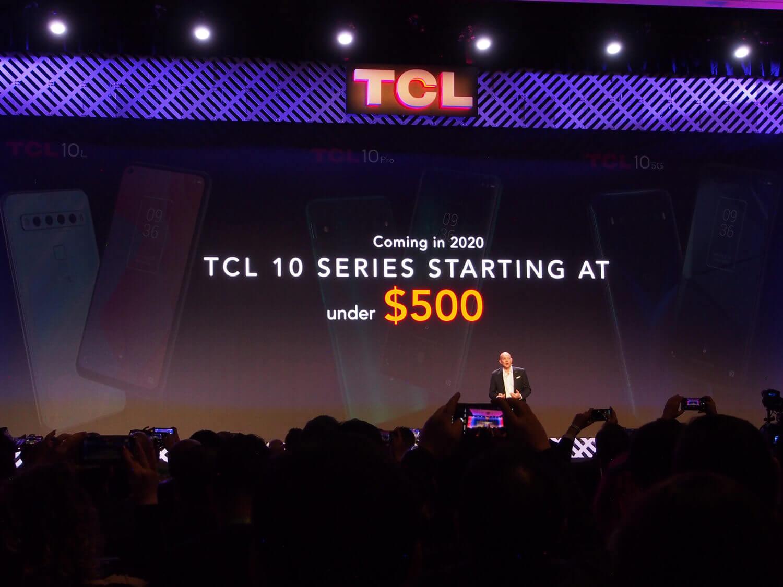 TCLの2020年は「500ドルスマホ」で世界展開を図る
