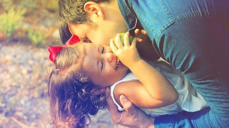 少女と父親
