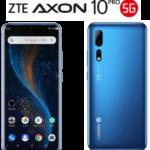 ZTE Axon 10 Pro 5G ブルー