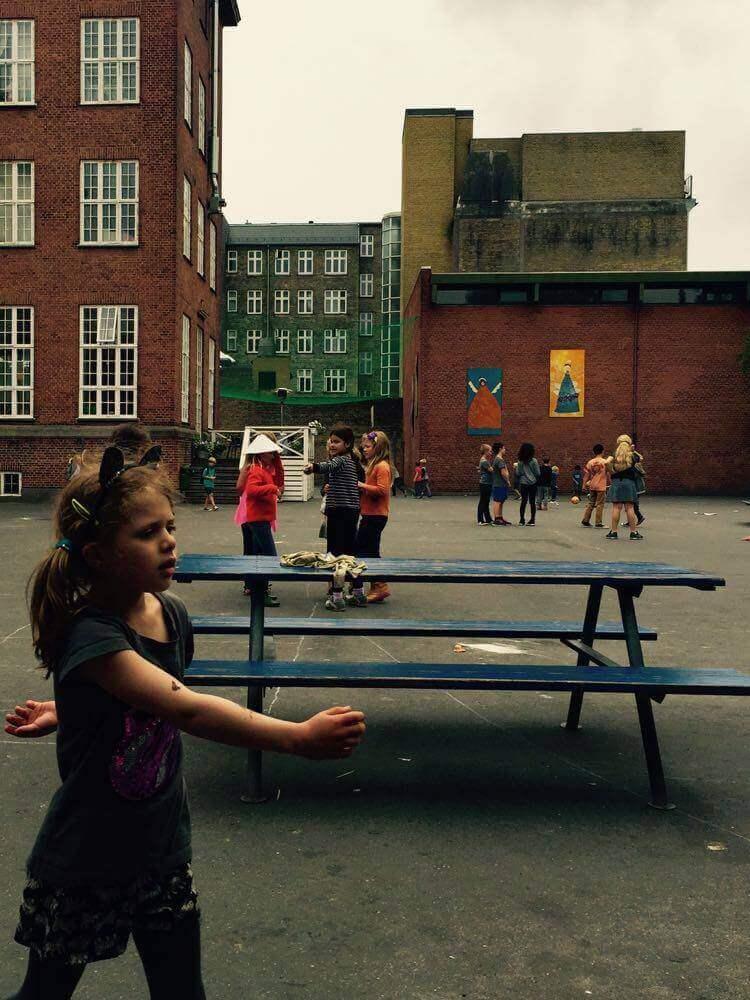 デンマークの小学校