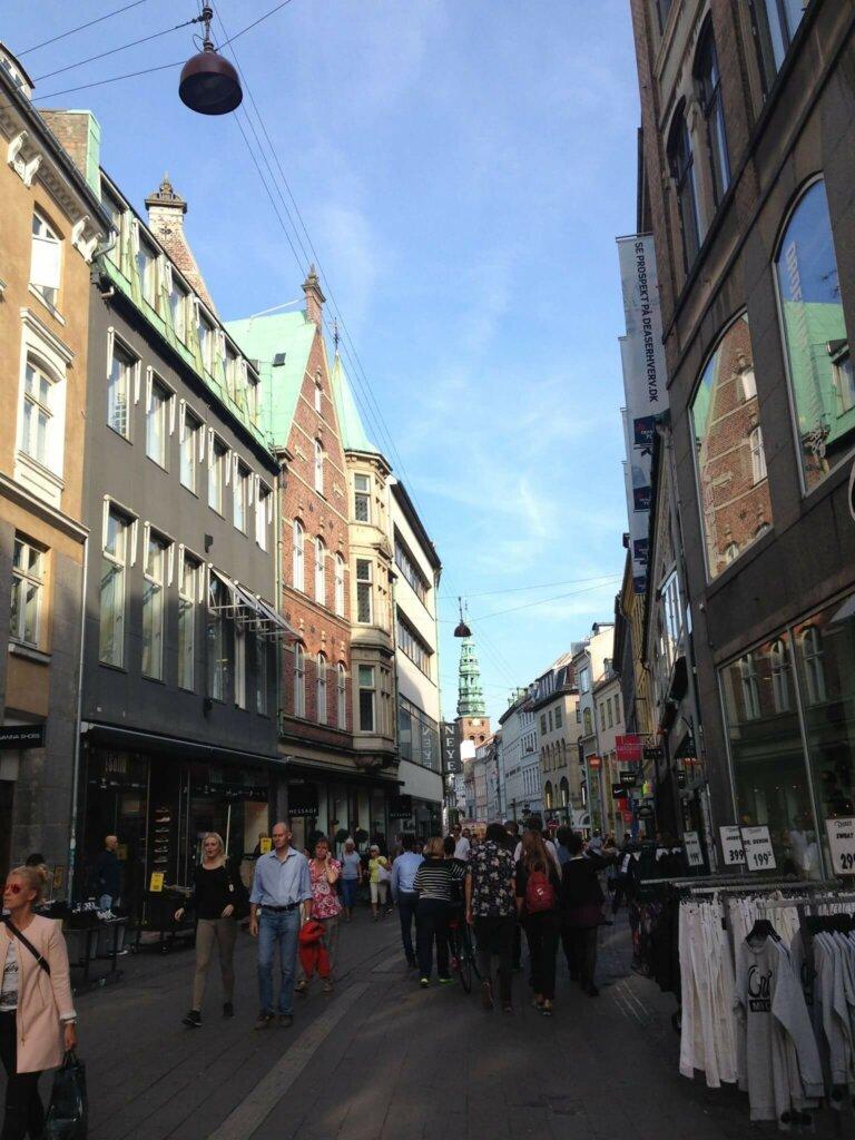デンマークの街並み