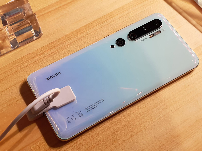 世界初の1億800万画素カメラを搭載した「Mi Note 10」