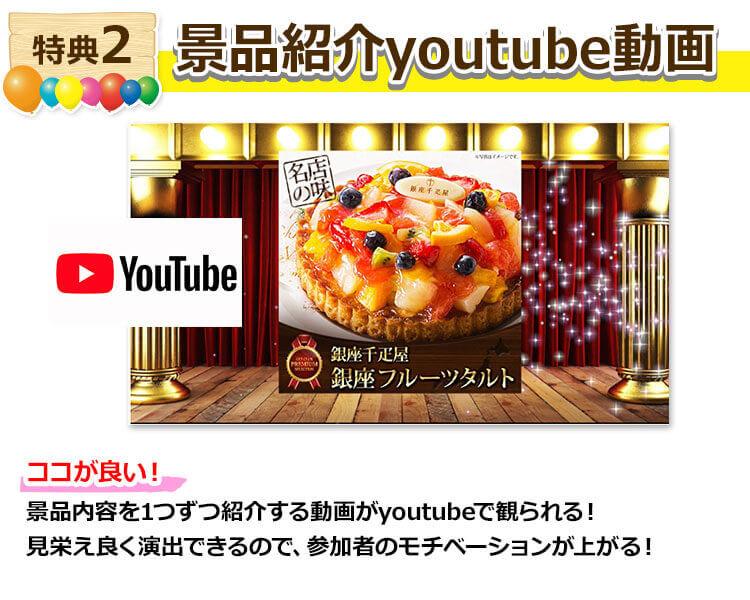 特典2景品紹介YouYube動画