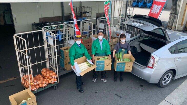 ドライブスルー八百屋 – 流通を止めるな!ドライブスルー方式による野菜・果物の販売イベントを6月開催