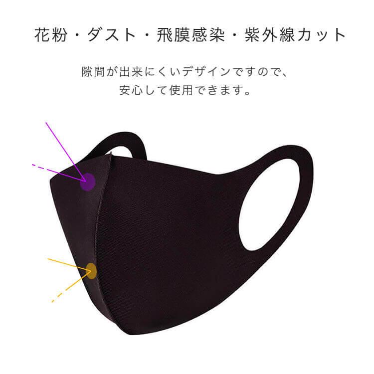 花粉・ダスト・飛沫ウイルス・紫外線カット