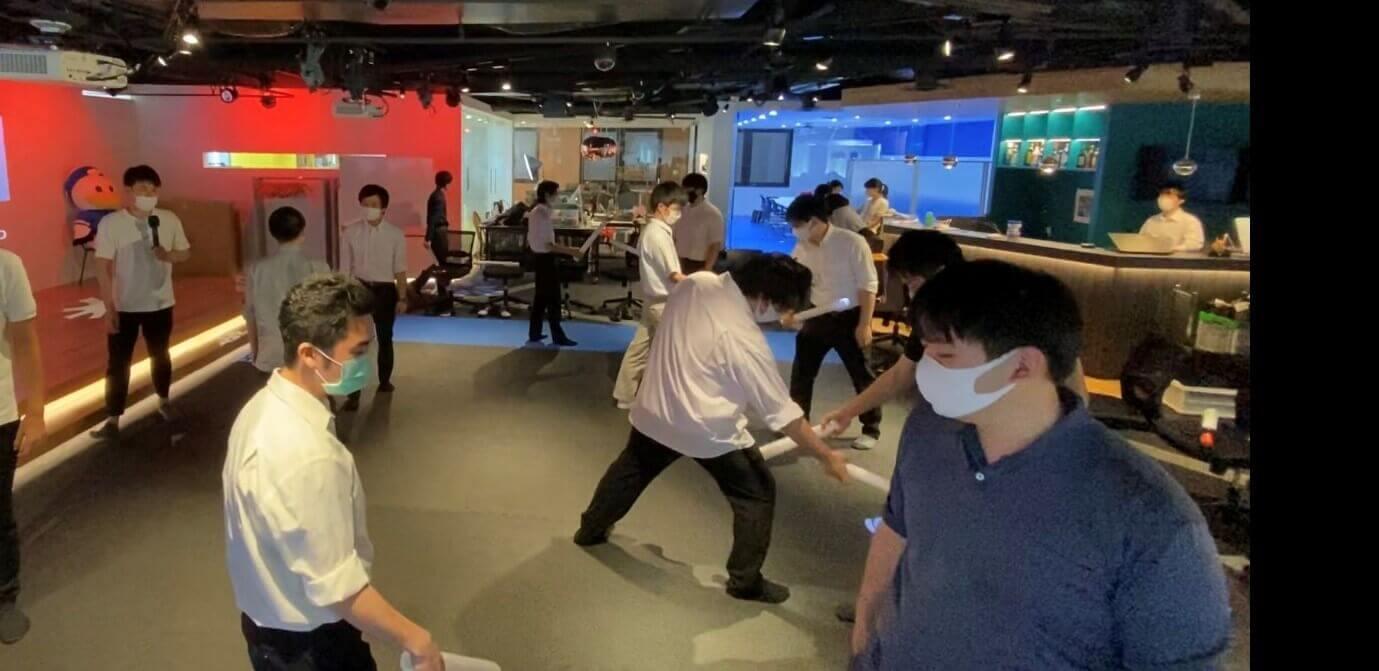 ㈱セントラルエンジニアリン株式会社 チームビルディング研修