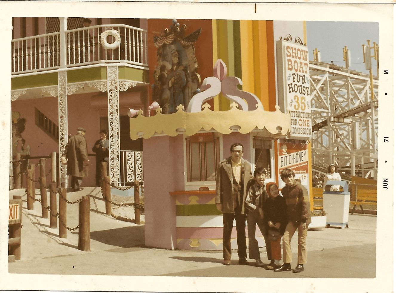 ニューヨーク在住当時の写真