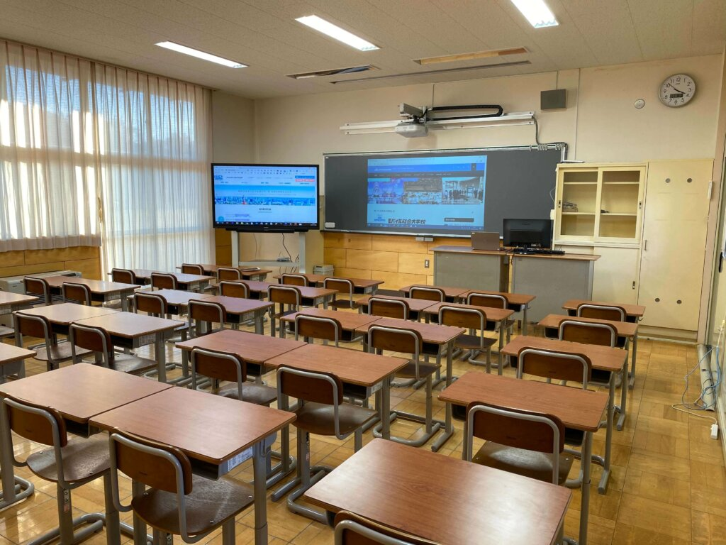 学校テストフィールド:普通教室