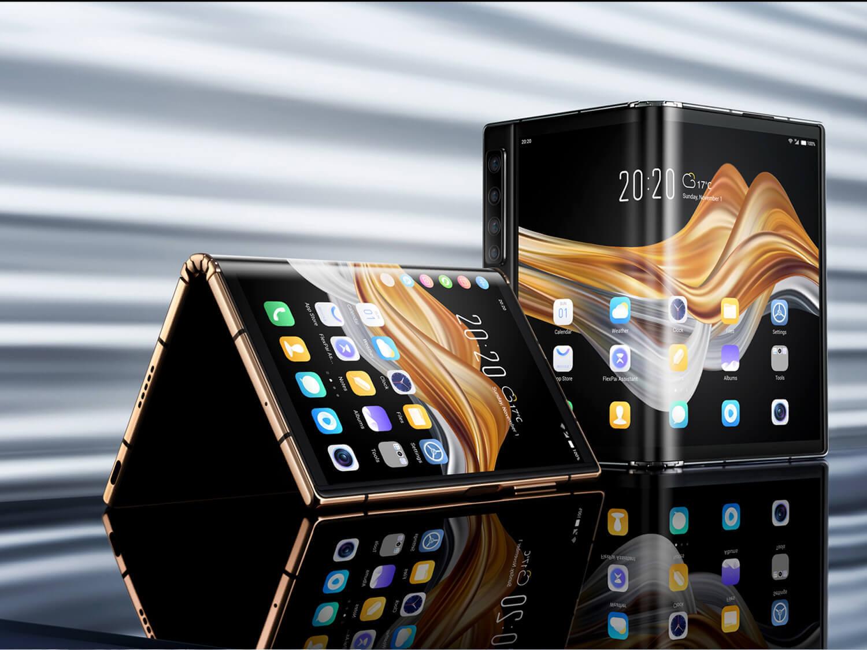 Royoleの2世代目の折りたたみスマートフォン「FlexPai 2」