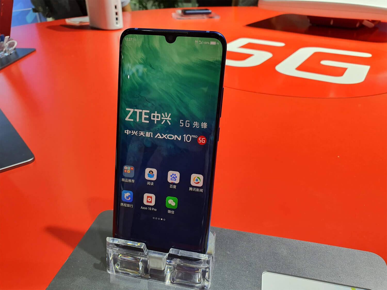 中国初の5GスマートフォンとなったAXON 10 Pro 5G