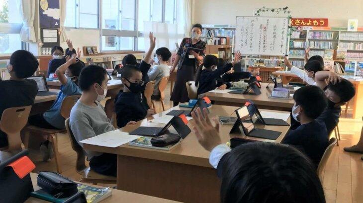 1人1台タブレットを使った授業、琴浦町立船上小学校(鳥取)の事例|上松恵理子のモバイル教育事情