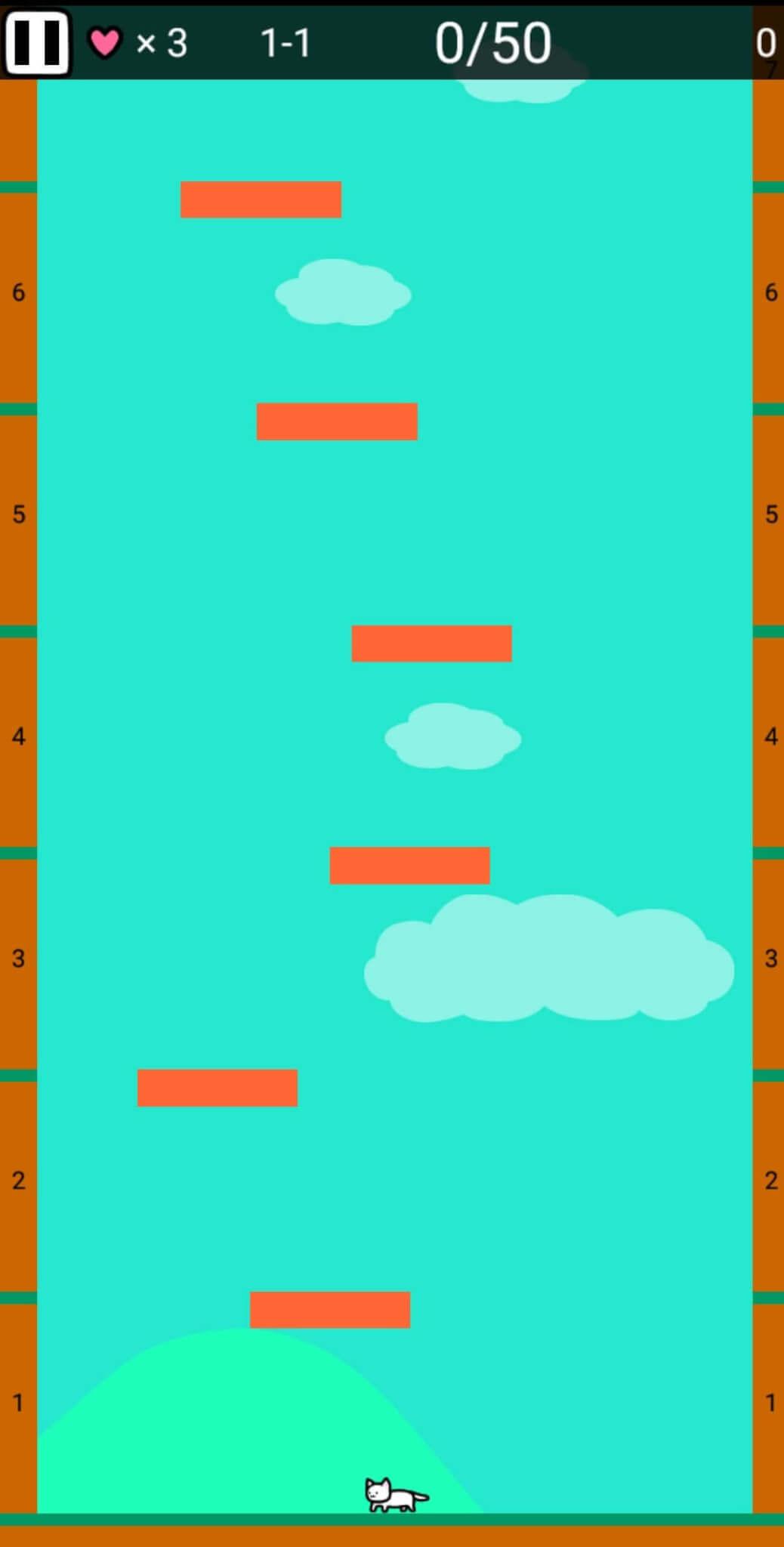 最上階まで登るゲーム