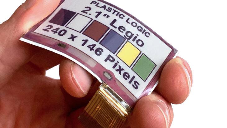 手首に貼り付けるスマートウォッチが誕生?曲がるカラー電子ペーパーが登場|山根康宏のワールドモバイルレポート