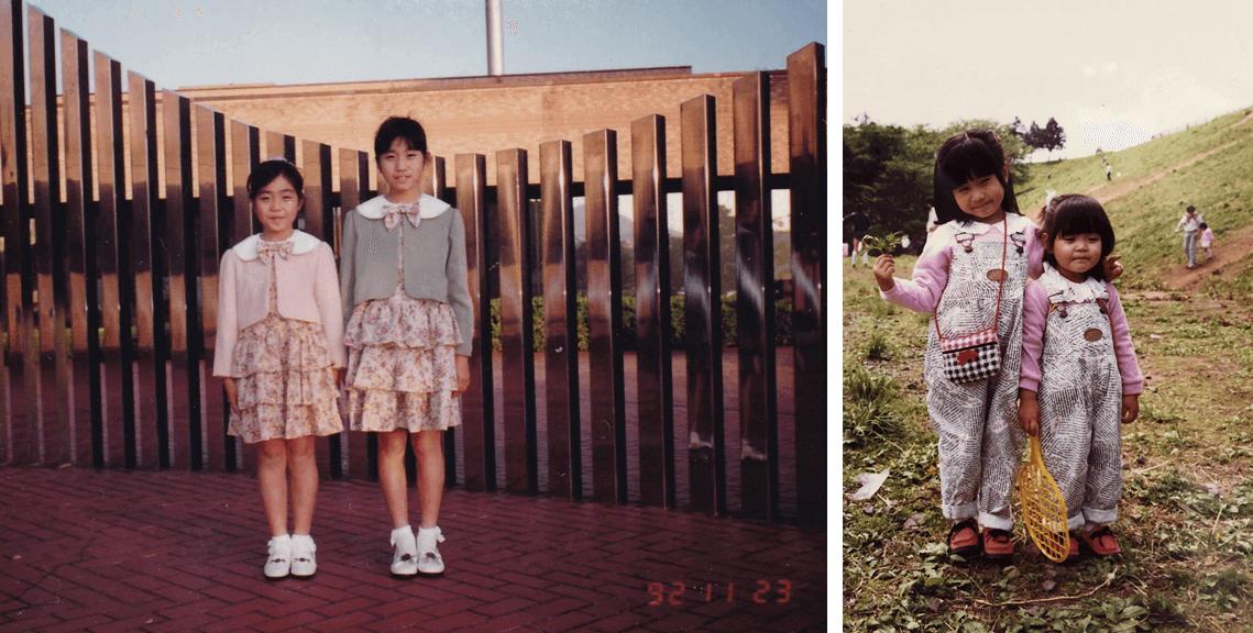 母が手作りの洋服を作ってくれるのをいつも見ていた子供時代