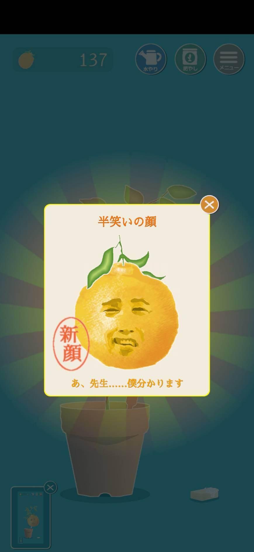 No.070 半笑いの顔