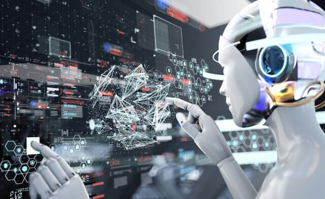 AI、ビッグデータのイメージ