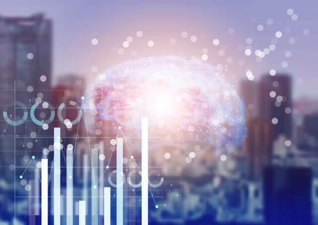 ビッグデータ、AI社会のイメージ