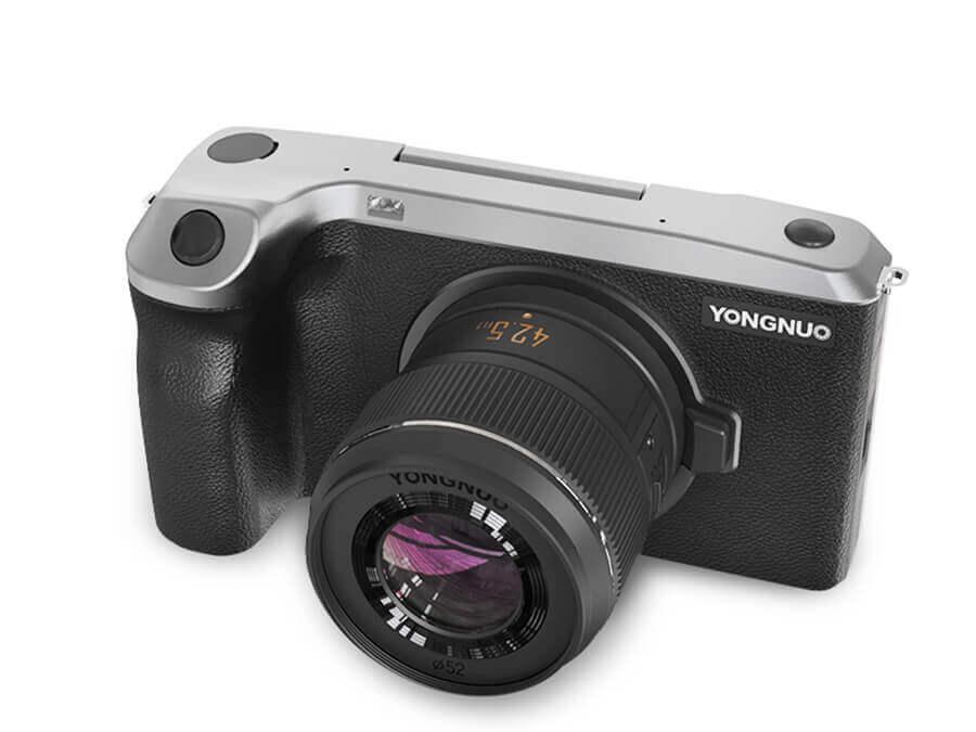 中国メーカーから出てきたデジカメ「YN455」